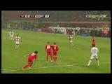 Zlatan Ibrahimovic 35 yard Free Kick Inter Milan vs Fiorentina 15 03 2009 HD