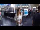 26 августа Джессика в аэропорту Лос-Анджелеса