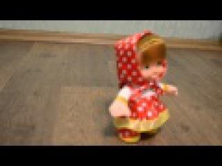 Говорящая кукла Маша (повторяет, поет и бегает!)
