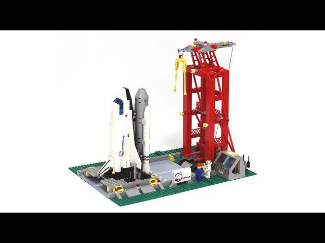 Лего 6339 Космодромная Пусковая Установка - Обзор Lego 6339 Shuttle Launch Pad - Review