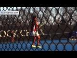KU Netters Fall Short, 4-3, to Arkansas  Kansas Tennis  2.11.17