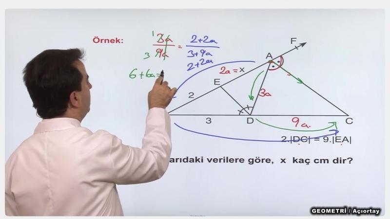 YGS-LYS GEOMETRİ - Açıortay 2