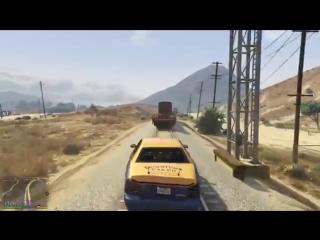 GTA 5 (PS4) Задание Мод: Ральф Островский | Беглец #1 ► Геймплей PS4