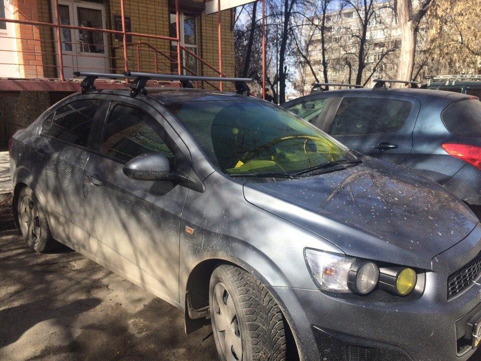 Багажники на крышу Chevrolet Aveo