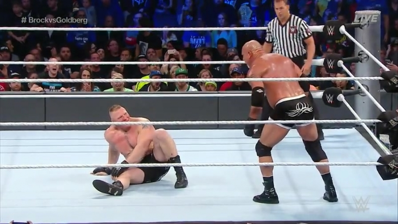 Goldberg vs. Brock Lesnar (WWE Survivor Series 2016) (full match with promo)