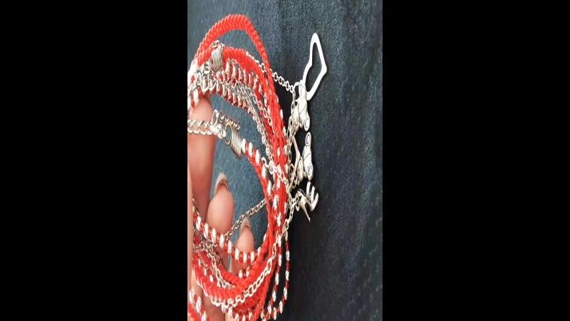 браслеты красная нить