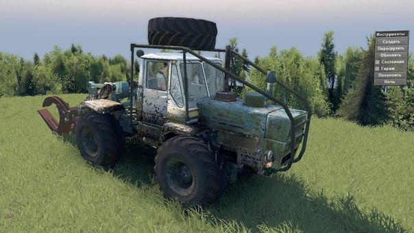Трактор Т-150 КД для 03.03.16 для Spintires - Скриншот 1