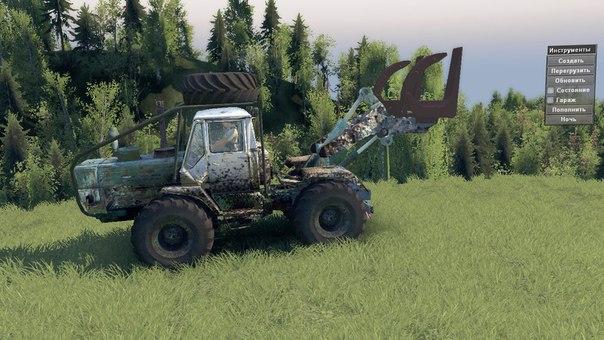 Трактор Т-150 КД для 03.03.16 для Spintires - Скриншот 2