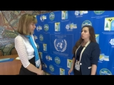 Интервью с Дарьей Колле (VIII Нижневартовская Молодёжная Модель ООН) RT 2017
