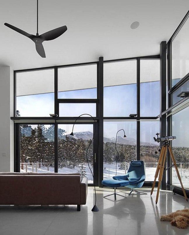 Arch11 создали дом в Роки Маунтэйнз, в