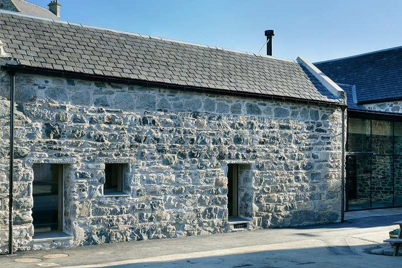 Brown   Brown transforms derelict stone