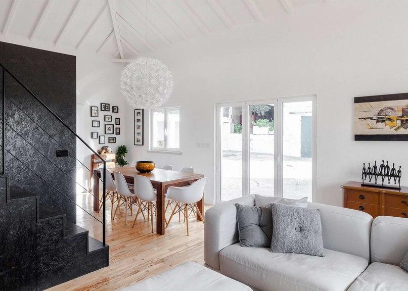 Часть 2. Дом-сарай (Barn House) в Португалии