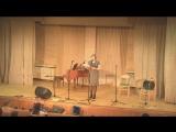 Концерт 14 янв. 2017 г. в РНБ. Эдуард Назаров (авторская музыка на фортепиано), Арина Меркулова (стихи, ведущая мероприятия)