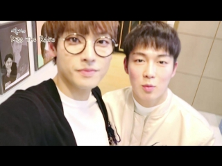 170314 DaWon&InSeong special gift video for White Day @ Kiss The Radio
