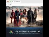 Живые обои к фильму Лига справедливости (Justice League Movie Living Wallpaper)
