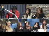 160308 Brave Girls @ SBS Radio Old School (용감한 형제, 브레이브걸스에게 몰래 먹는 것 그만해)