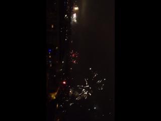Новый год с глаз 9 этажа