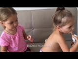 Алина и Ульяна. Маленькое мороженко