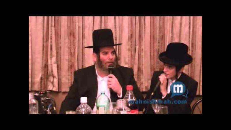 Motti Steinmetz Singing With Hamezamrim