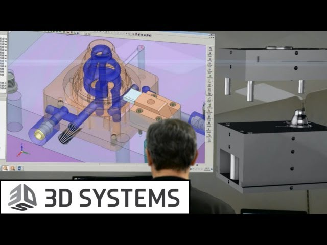 Решения 3D Systems для конформного охлаждения (Cimatron, Geomagic Control, 3D-принтеры по металлу)