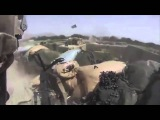 Soldier Shot in the Back, Firefight Ensues