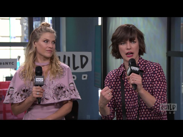 """Milla Jovovich And Ali Larter Talk About The Movie, """"Resident Evil The Final Chapter"""""""