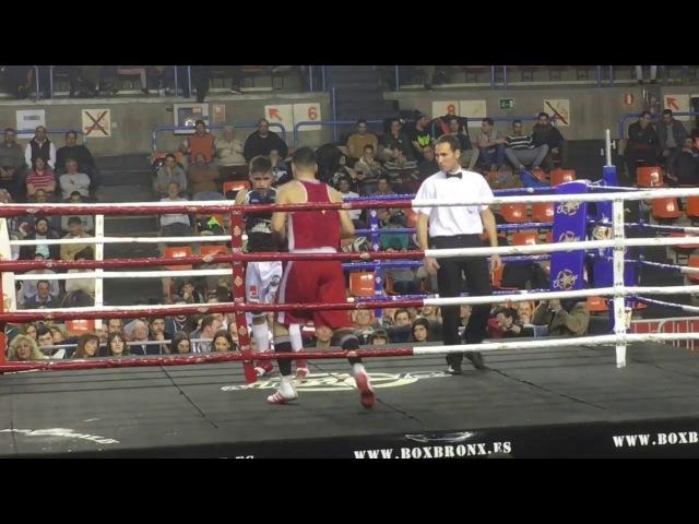Бокс. Самуел Кармона. 2017.Boxeo.Samuel Carmona.VI Velada de Boxeo.Las Candelas 2017.