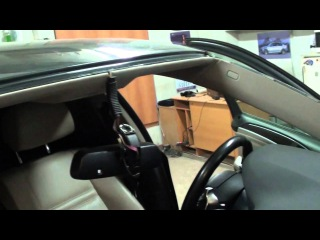 замена лобового стекла с датчиком дождя BMW X6 Саратов Чернышевского 90