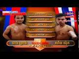 Kun Khmer, Phan Kron Vs Thai, Sanyuth, SEATV boxing, 19 Feb 2017, Ganzberg Top Fighter