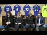 FNL PART 1: David Luiz and Willian join Chelsea TV live in the studio