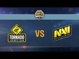 Tornado Energy vs Natus Vincere - day 3 week 1 Season II Gold Series WGL RU 2016/17