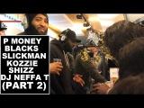P Money, Blacks, Slickman, Kozzie &amp Shizz &amp DJ Neffa T - Reprezent Radio (Part 2)  Grime Report Tv
