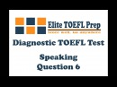 TOEFL ibt - Speaking - Question 6 / competition among birds
