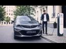 The Opel electric car Ampera-e
