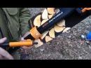 Топор Fiskars на охоте
