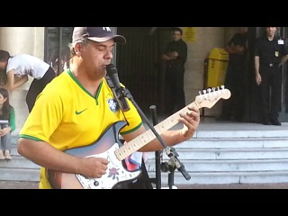 William Lee - Sultans Of Swing - Dire Straits - Artista de Rua Brasileiro