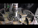 Valeo alternator repair part 2 slipring change.