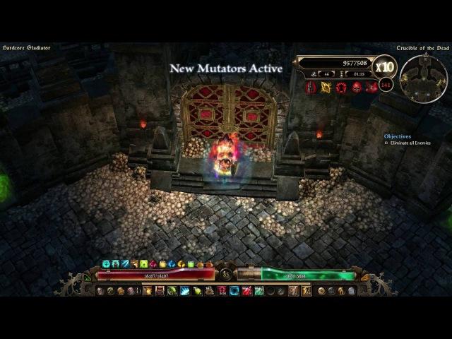 1.0.0.5 Battlemage - Crucible (Gladiator Wave 131-150) - Wraith Warrior