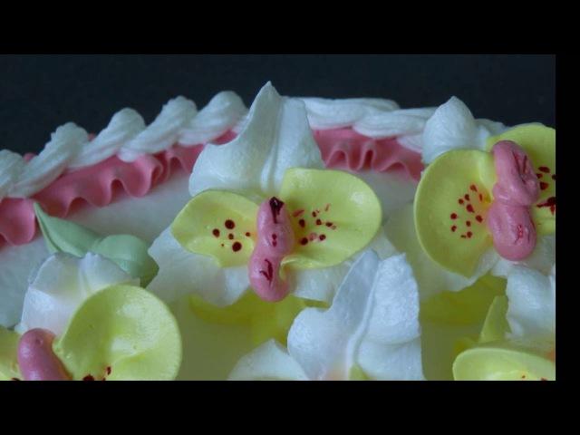 торт Веточка орхидей Orchideen Torte