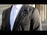 Пиджак мужской с контрастными вставками AG-0000167