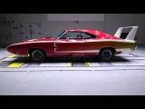 1969 Dodge Chrysler Daytona wind tunnel test