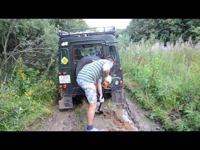 Покатуха день№2 Руслан делает раскопки грунта