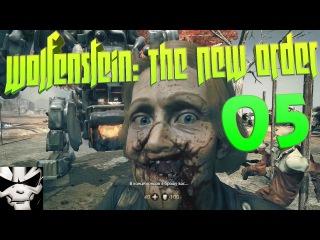 Wolfenstein: The New Order - Прохождение 05 - В гостях у бабушки