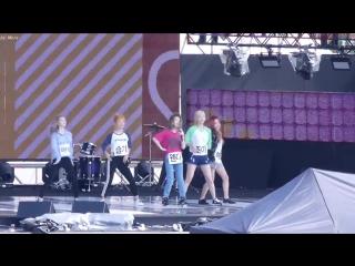 [FANCAM] 160903 Red Velvet Dumb Dumb @ Sky Festival Rehearsal