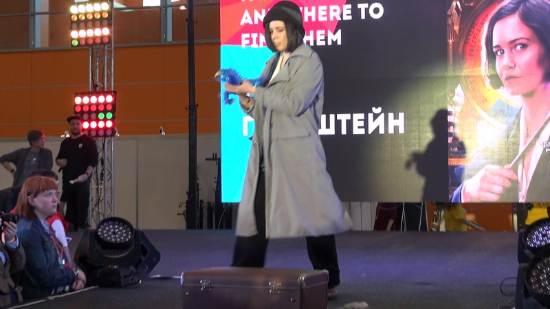 Fantastic Beasts and Where to find them Тина Голдштейн