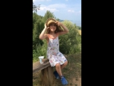 Лето-2016: Жозефина поёт про мостик