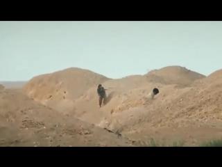 Сирия. Пальмира. Снайпер ликвидировал боевика игил