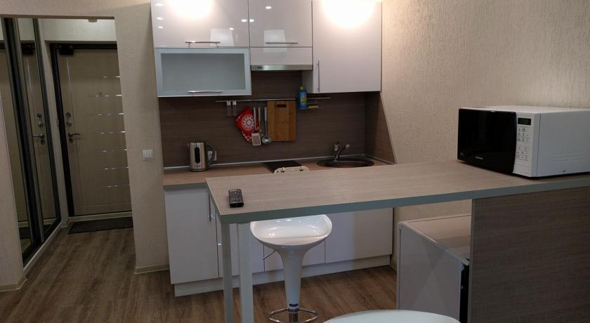 Квартира-студия 33 м в Новосибирске.