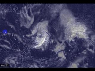 мощный циклон над Украиной, запись 15:00 02.12.16
