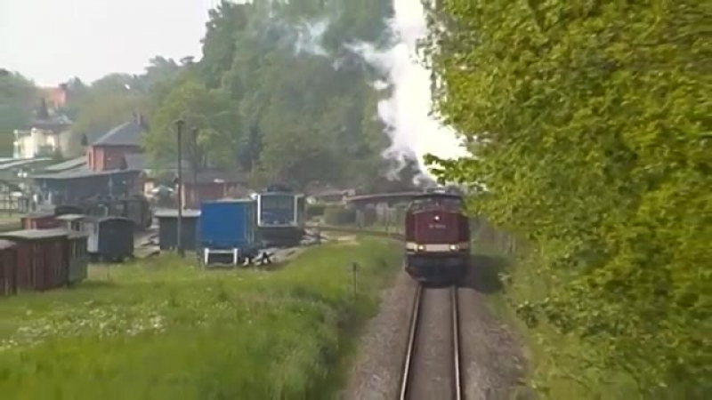 112 703 (203 230) und 91 134 in Putbus